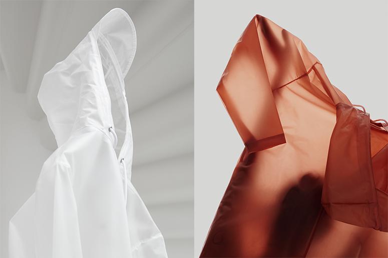 Rains Transparent Hooded Coat: модный дождевик