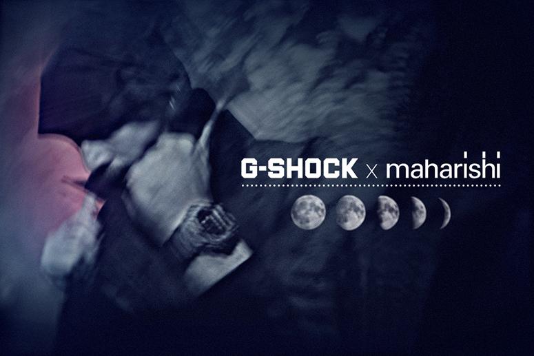 CASIO G-SHOCK x maharishi Launch Party