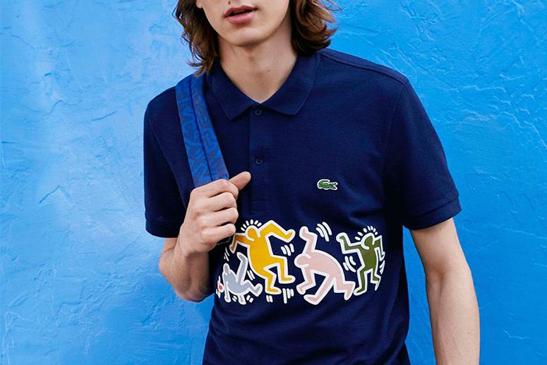 Lacoste × Keith Haring: ритм андерграунда