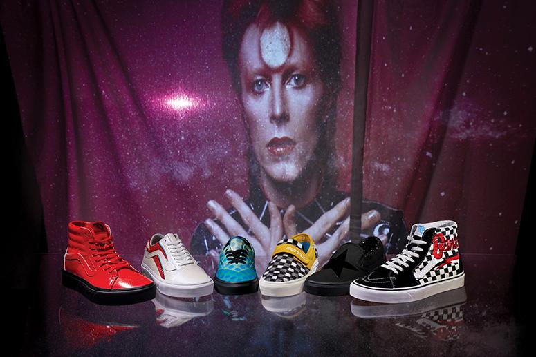 Vans × David Bowie: в честь иконы музыки и моды