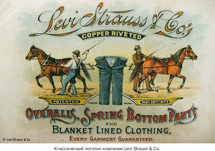 Классический логотип Levi Strauss & Co.