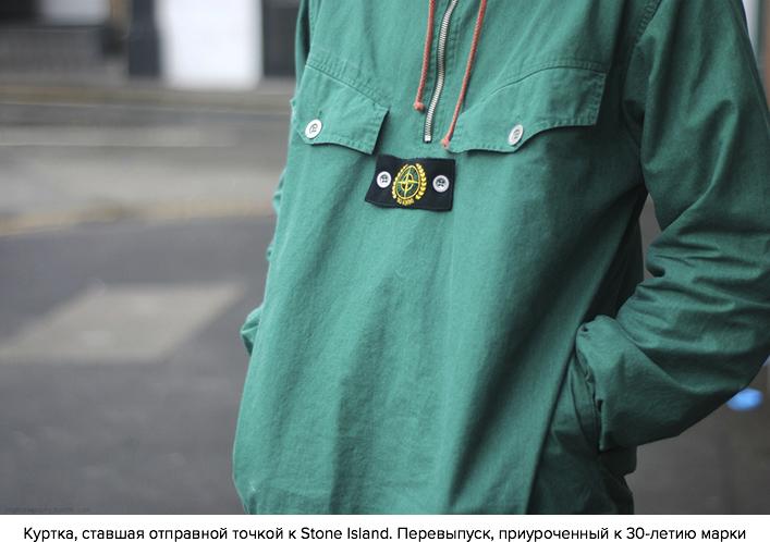 Куртка, ставшая отправной точкой к Stone Island, приуроченая к 30 летию