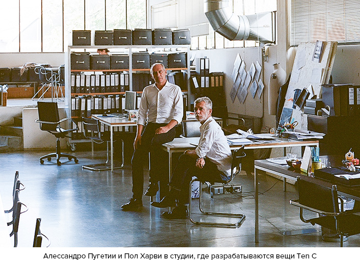 Пол Харви и Алессандро Пугетии - основатели Ten C