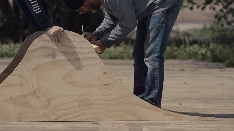 Проектирование сооружений нового скейтпарка