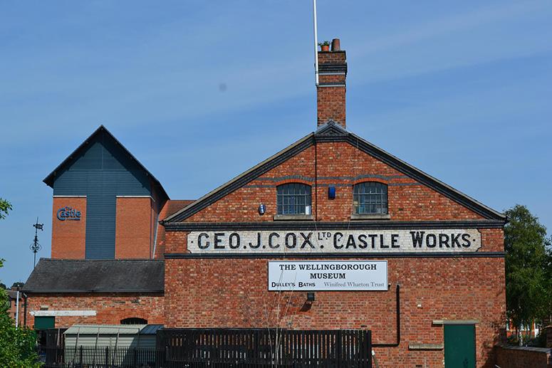 Старая фабрика Джорджа Кокса