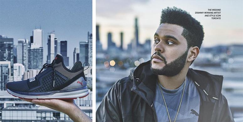 The Weeknd представляет новую модель