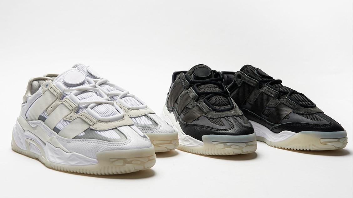 Современные кроссовки adidas Niteball — еще один микс баскетбольного наследия марки