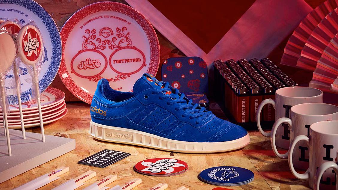 Коллабораия adidas x JUICE x Footpatrol