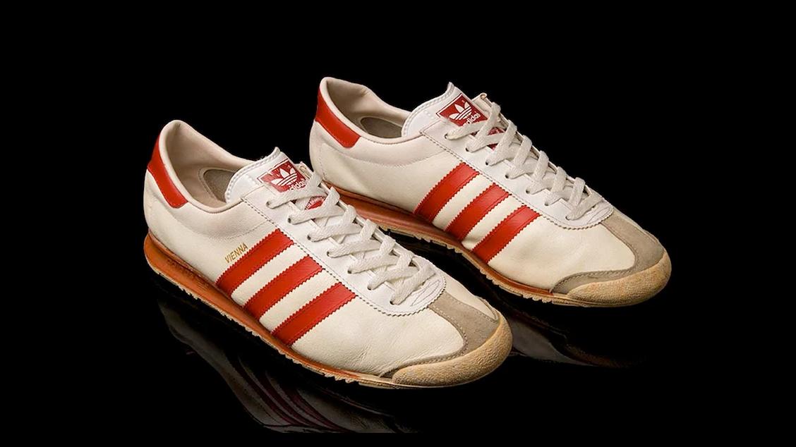 Оригинальное издание adidas Originals Vienna в 1970-80-х годах