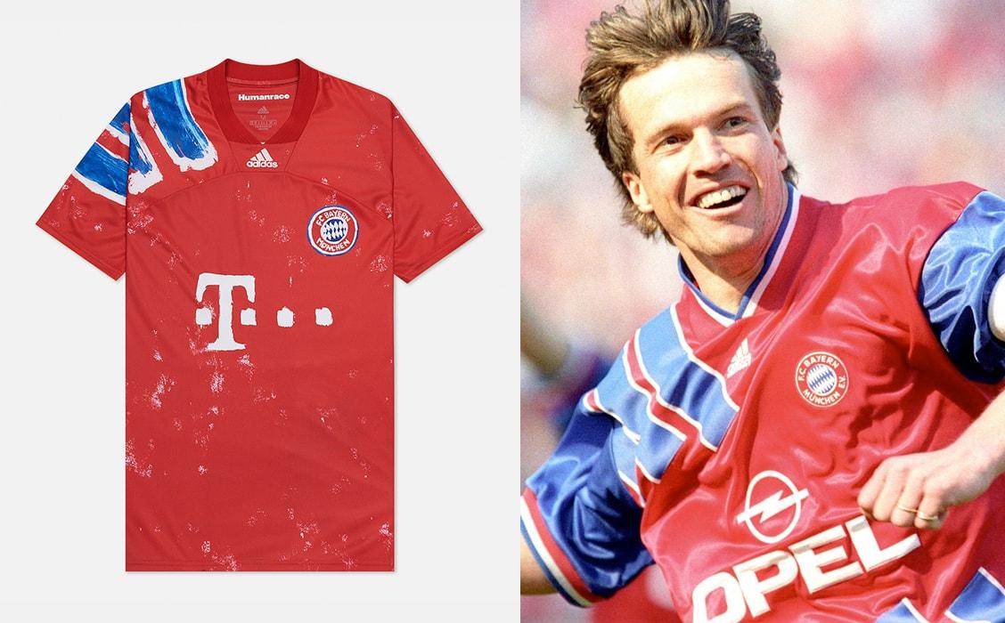 Мужская футболка adidas Performance x Human Race FC Bayern Jersey