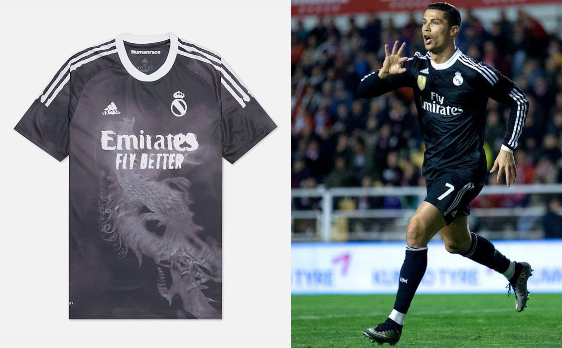 Мужская футболка adidas Performance x Human Race Real Madrid Jersey
