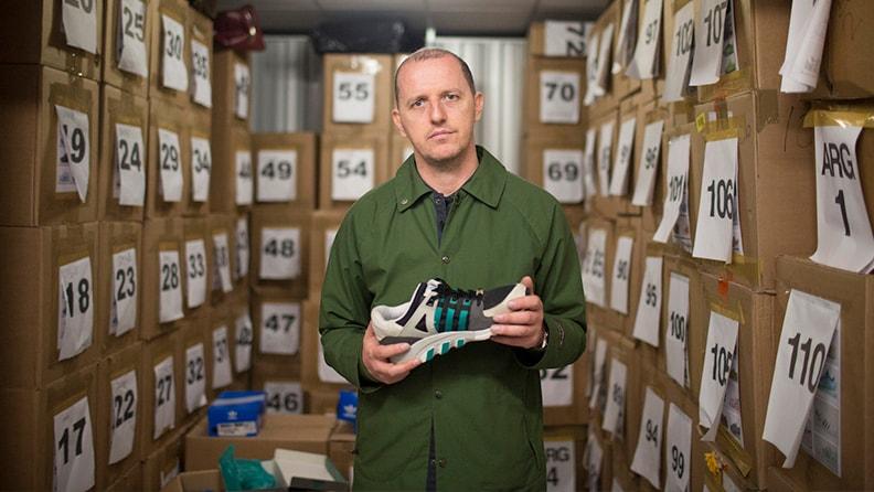Гари Аспден — коллекционер винтажных adidas и куратор линейки Spezial