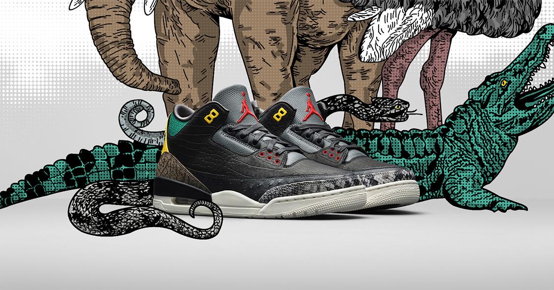 Кроссовки Air Jordan 3 Animal Instinct 2.0