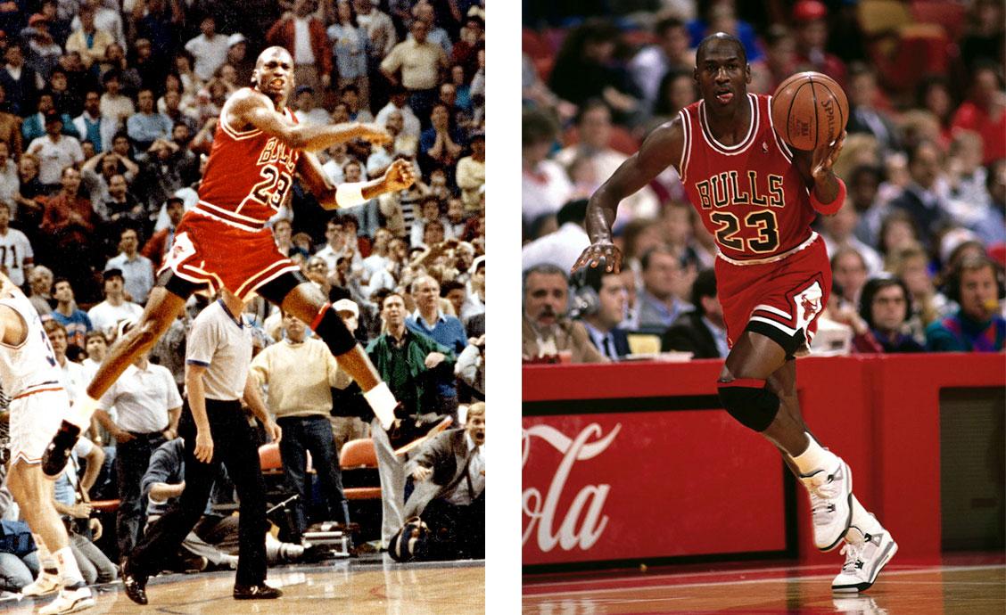 Майкл Джордан в Air Jordan 4