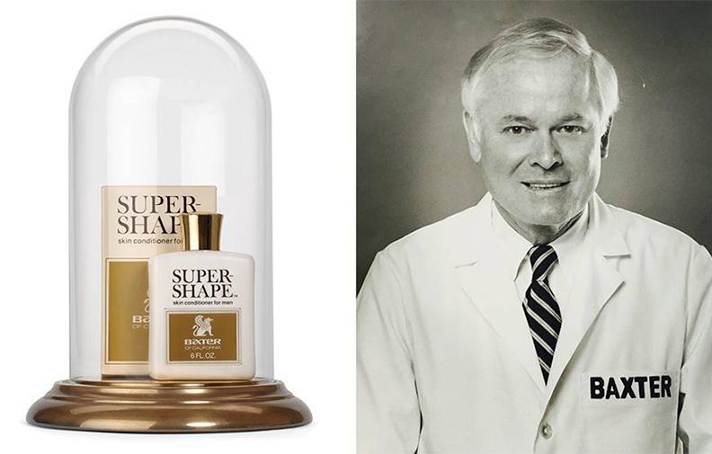Оснаватель бренда Бакстер Финли и его первый продукт – лосьон Super Shape