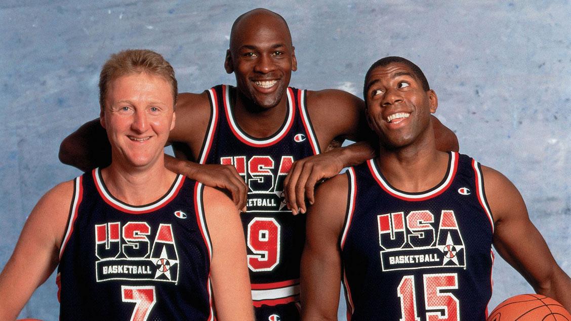 Легенды «Dream Team» в униформе Champion