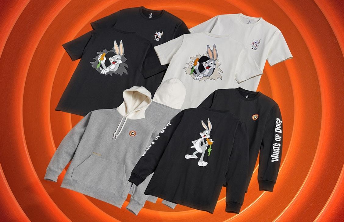 Коллекция одежды Converse x Bugs Bunny