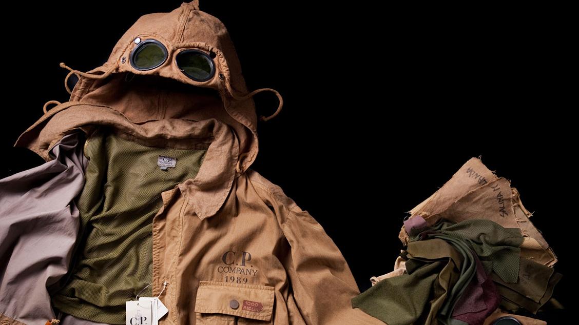 Легендарная куртка C.P. Company Goggle Jacket
