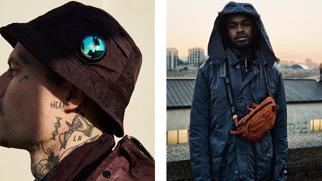 Совместный релиз с голландским брендом уличной моды Patta