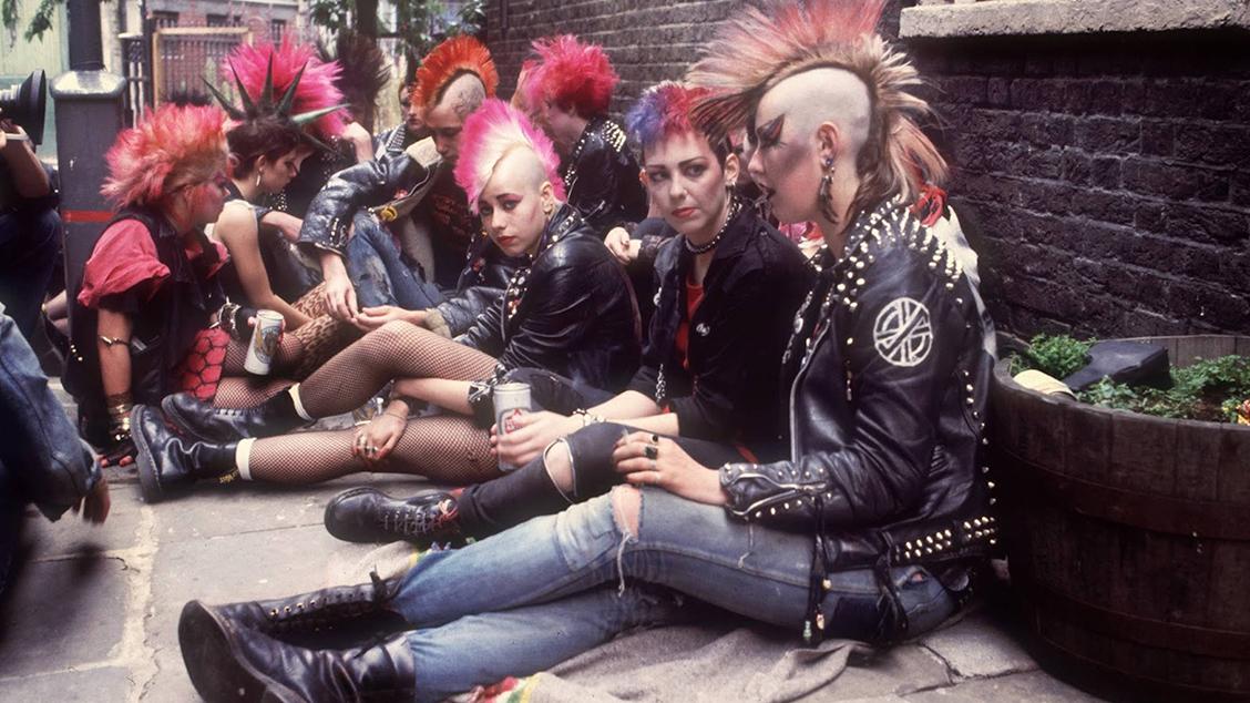 Панки в ботинках Dr. Martens, 1983 год