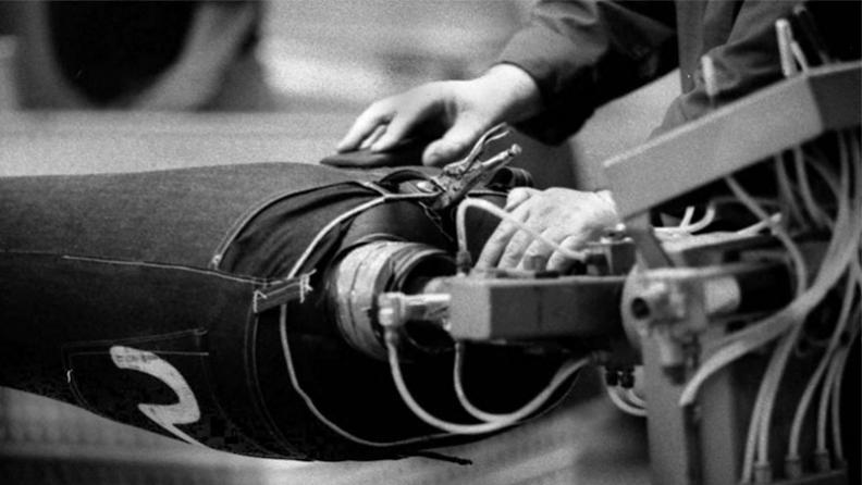 Ручной процесс производства денима EVISU