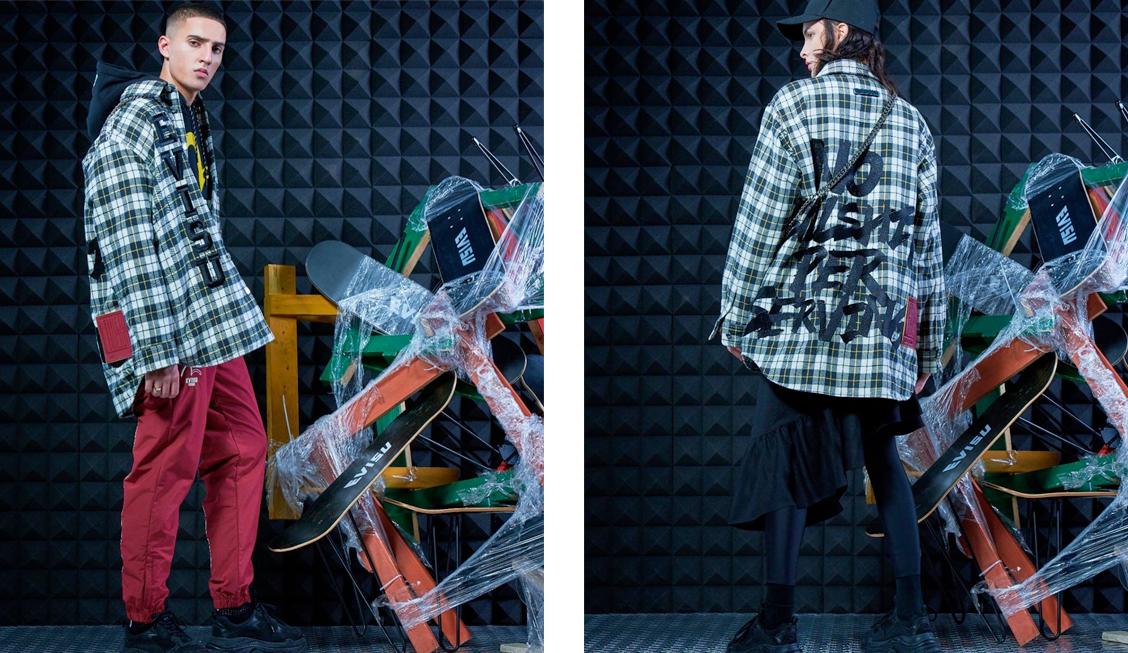Куртка из коллекции EVISUKURO BEYOND BLACK