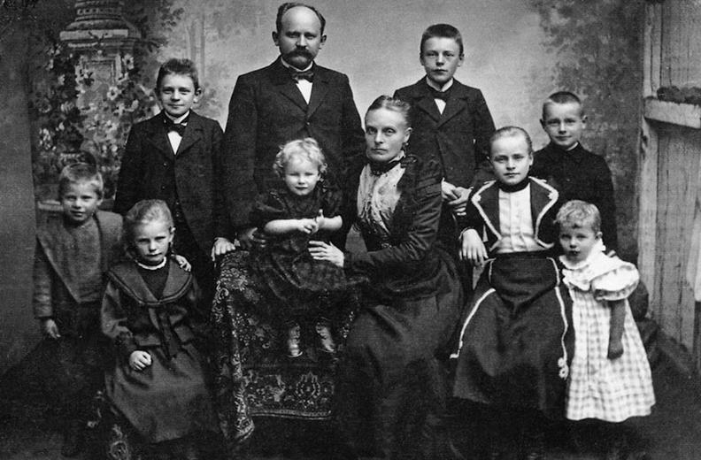 Семья основателя марки FALKE Франца Фальке-Роэна