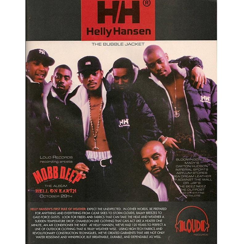 Обложка альбома легенд хип-хопа Восточного побережья США – Mobb Deep