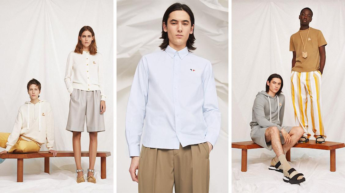 Коллекция одежды Maison Kitsuné