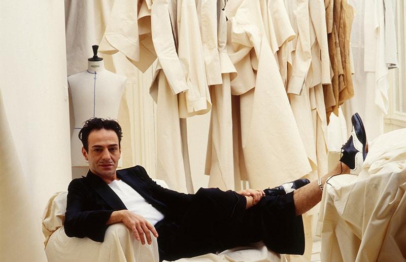 Текущий креативный директор Maison Margiela— Джон Гальяно