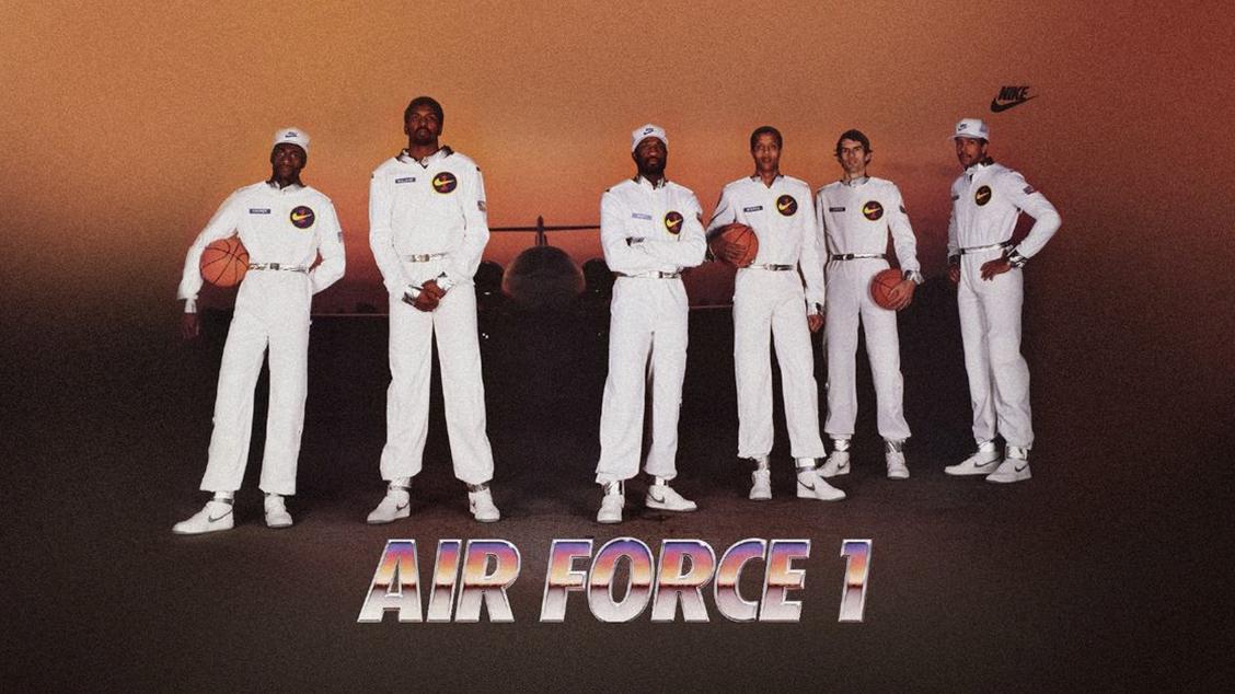«Оригинальная шестерка» – именитые атлеты NBA ставшие лицом кампании AF1