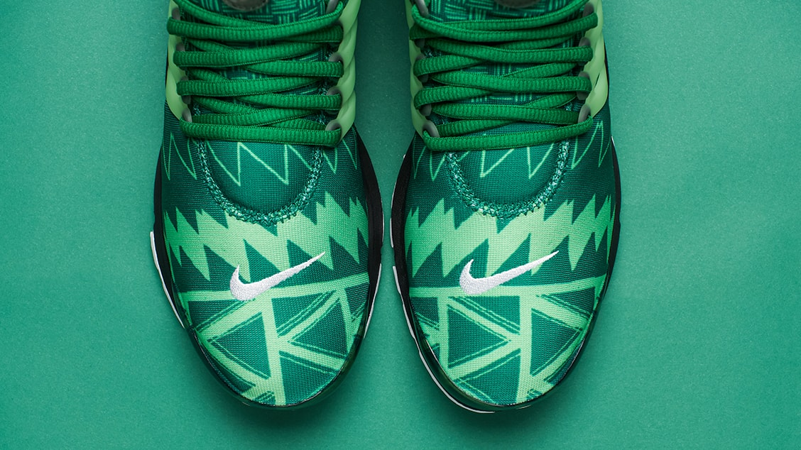 Детали силуэта Nike Air Presto Naija