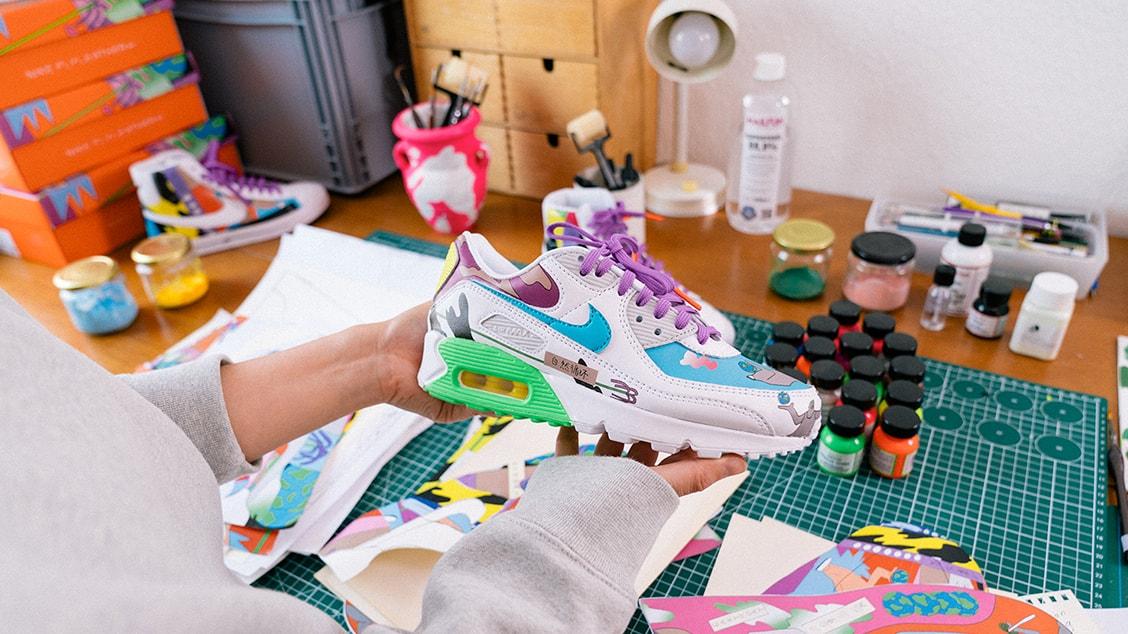 Детальный взгляд на яркий релиз Nike x Ruohan Wang Air Max 90