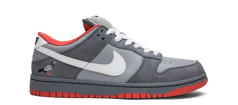 Коллаборация Staple x Nike SB Dunk Low NYC Pigeon