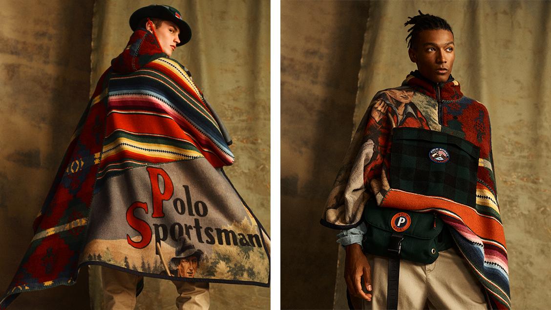 Пончо из коллекции Polo Sport Outdoor, вдохновлённой линейкой Sportsman 1998 года
