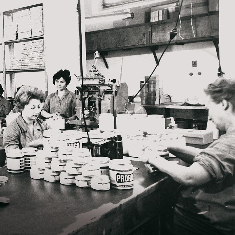 Открытая в 1948 лаборотория во Флоренции стала отправной точкой Proraso