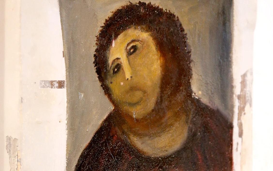 Реставрация «Ecce Homo» была признана специалистами «худшей реставрацией в истории живописи»