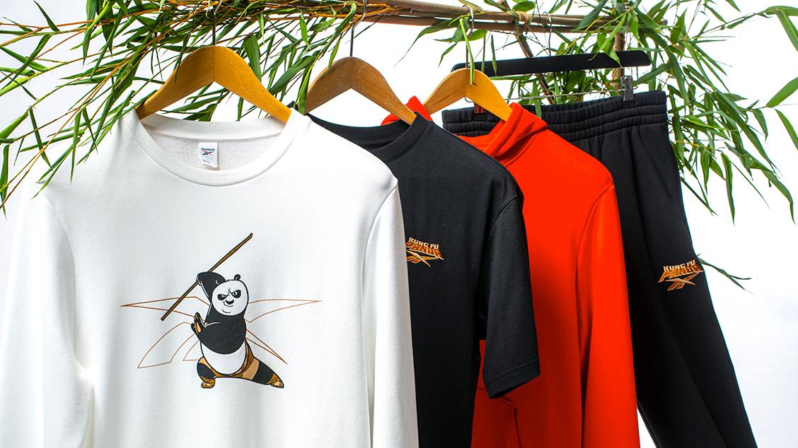Коллекция Reebok x Kung Fu Panda