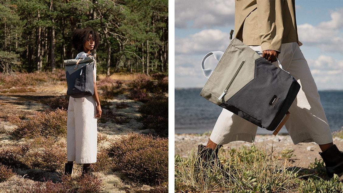 Рюкзаки и сумки шведского бренда Sandqvist