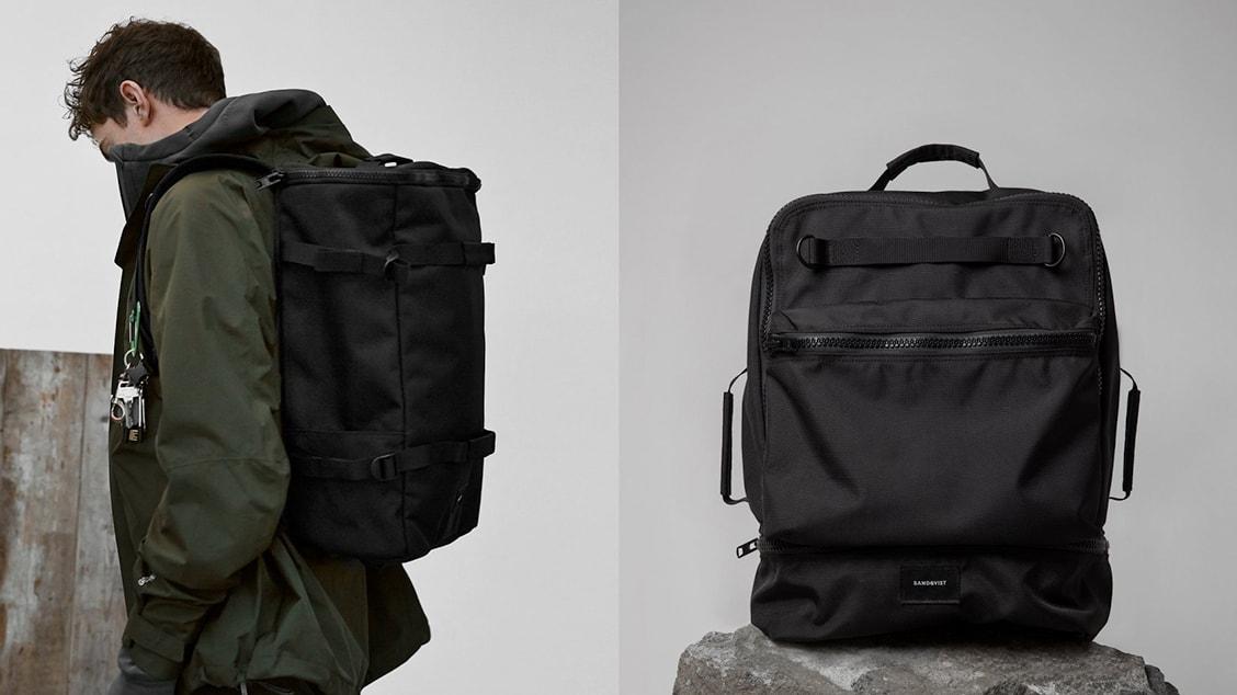 Функциональный и долговечный рюкзак Sandqvist