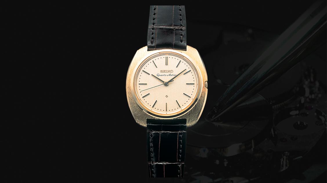 Первые в мире кварцевые часы Seiko Quartz Astron