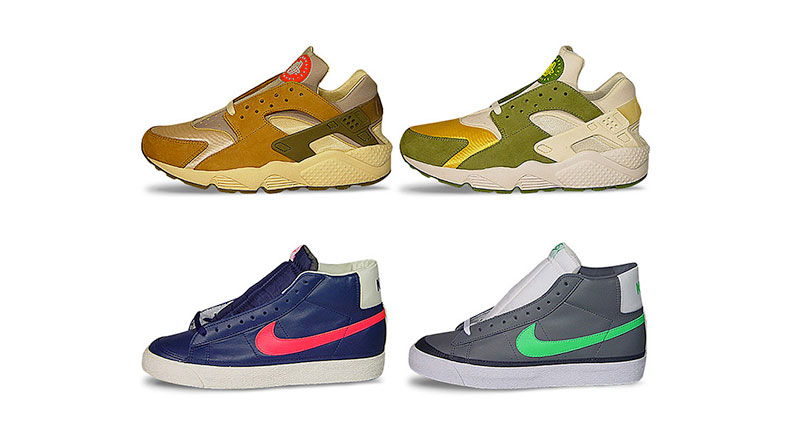 Первые коллаборации Stussy и Nike