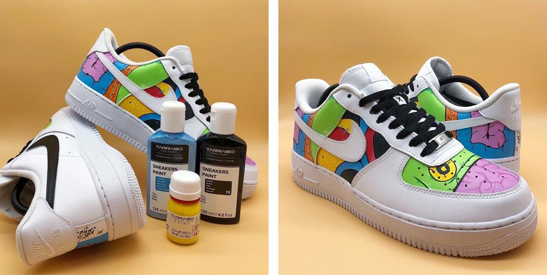 Sneakers Paint — способ создать новую расцветку собственными руками