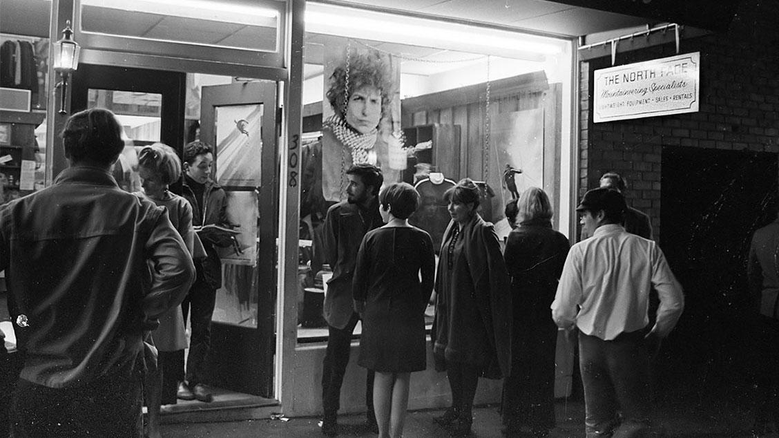 Открытие первого магазина The North Face в Сан-Франциско, 1966 год