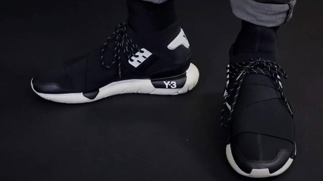 Первая модель кроссовок Y-3 Qasa High из осенне-зимней коллекции Y-3 2013 года