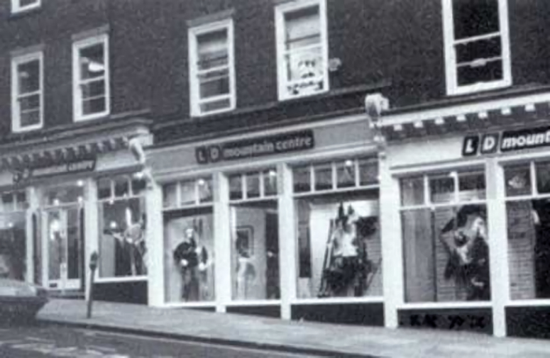 Магазин LDMountain Centre в1966 году
