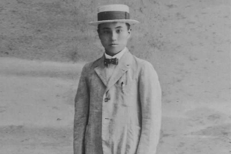 Кичицо Йошида, основатель Yoshida & Co., Ltd., в молодости