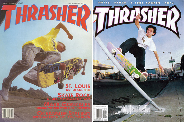 Марк Гонзалес на обложках Thrasher
