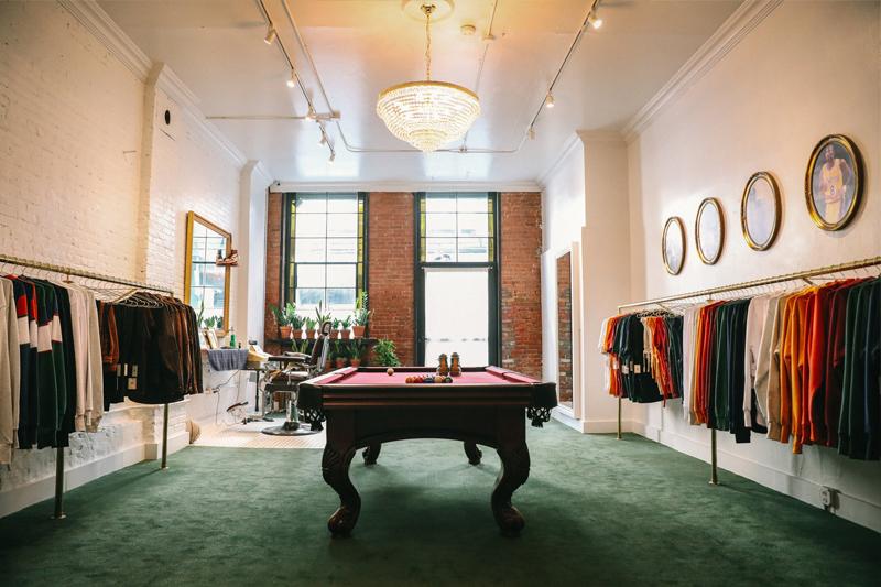 Концептуальный магазин Aimé Leon Dore наМанхэттене