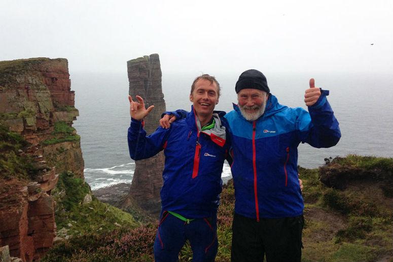 Крис Боннингтон cЛео Холдингом покорили вершину Old Man